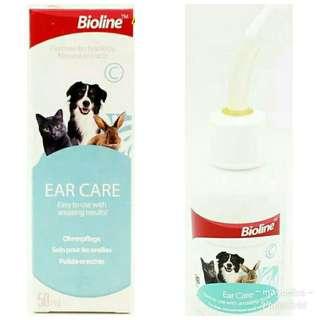 Pembersih telinga anjing kucing kelinci Bioline 50ml