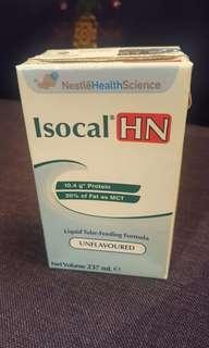 雀巢 愛素寶 Isocal HN 高蛋白HN即用裝237ml (1箱24包)