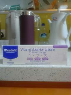 Mustela vitamin barrier creme