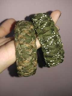 Army Green Camo Paracords