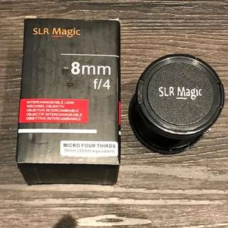 SLR Magic 8mm f/4 Lens - USED - NEAR NEW