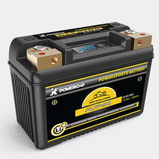 POWEROAD Lithium Motorcycle Battery for YTZ5S, YTZ7S