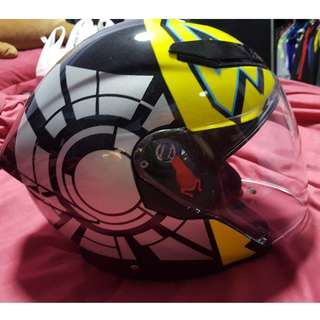 AGV K5 jet VR46 winter test