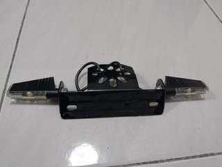 Plate holder & Rizoma signal.