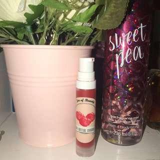 Jar of Beauty Tint Lipbalm / Cream Blush Red Butter Cookies