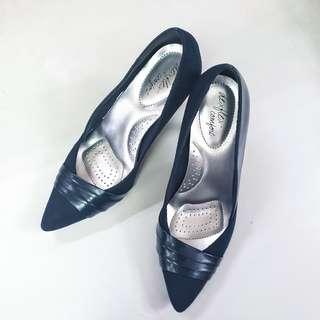 DEXFLEX Comfort Navy Blue Shoes from Payless