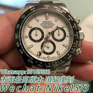 勞力士Rolex宇宙計型迪通拿系列116500LN-78590白盤腕錶