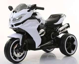 🚚 R1200 兒童電動摩托車雙驅 避震