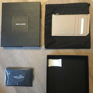 Saint Laurent YSL card holder 卡套 卡包 卡片套 散銀包 wallet