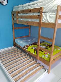 Ikea kids bunk bed frame