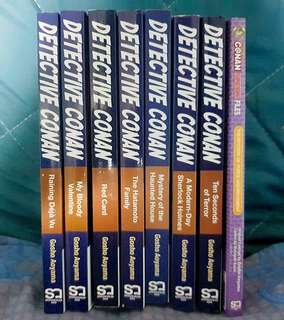 Detective conan English manga