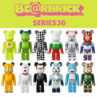 Original Bearbrick Series 36 (Pre Order)