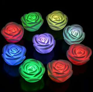 LED Rose Mawar 10rb dpt 4