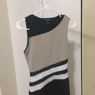 Dress with Mesh Detailing