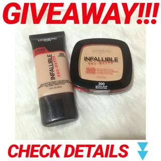 GIVEAWAY!!! ❤