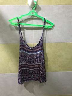 Forever 21 Aztec Printed Top