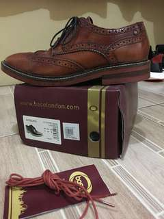 REPRICED: Base London Woburn Leather Shoes