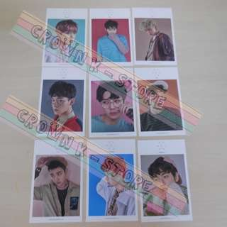 [LAST 1SET][CRAZY DEAL 90% OFF FROM ORIGINAL PRICE][READY STOCK]EXO KOREA OFFICIAL PHOTO SET(9PC); ORIGINAL FR KOREA (PRICE NOT INCLUDE POSTAGE); POSLAJU:PENINSULAR AREA :RM10/SABAH SARAWAK AREA: RM15