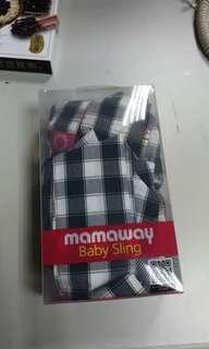 🚚 Mamaway寶寶背巾