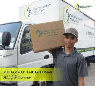 Experience Movers, Packers and Driver
