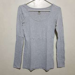 Cotton On Grey Long Sleeves