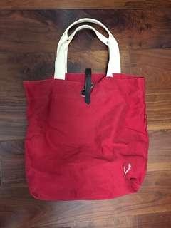 正版Fred Perry袋 big size tote bag
