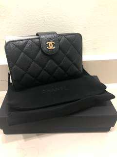 Authentic Chanel Wallet GHW