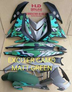 coverset exciter camo matt green