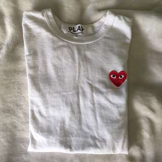 (CDG Play) tshirt