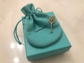 Tiffany Daisy Key Pendant 頸鏈