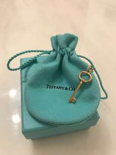 Tiffany Oval Key Pendant 頸鏈