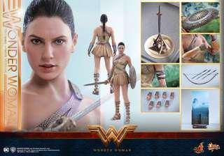 Hot toys Wonder Woman Training Armor Version 可取單