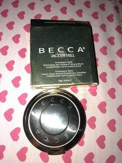 Becca x jaclyn hill blush n highlighter