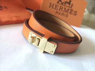 Hermes Mini Dog Double Tour Bracelet