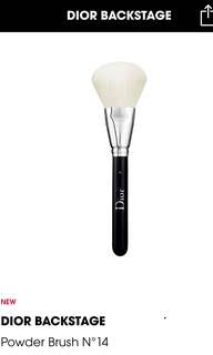 Dior backstage powder brush nbr 14