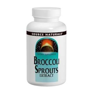 Source Naturals, Broccoli Sprouts Extract, 60 Tablets