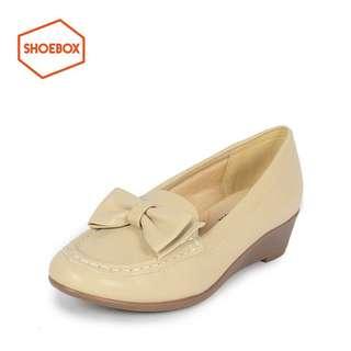 🚚 達芙妮旗下鞋櫃女鞋DAPHNE for ShoeBox 經典甜美蝴蝶結單鞋全新清倉 挑戰最低價 任選3雙免運費