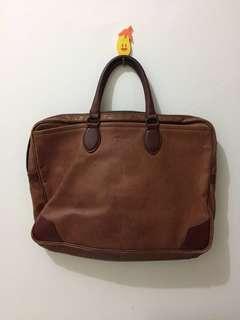 Hardy Amies Leather Bag