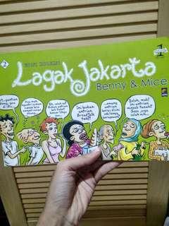 Lagak Jakarta Karikatur Benny & Mice Reformasi Jakarta Pemilu Presiden 98 Kampanye Politik #carouhb
