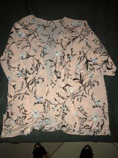 KIMONO IN FLORAL PRINTS FITS XS TO MEDIUM