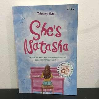 ' she's Natasha ' by Thiarany Putri