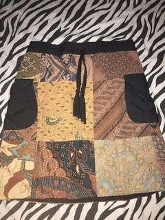Rok Span Mini Batik Lawasan