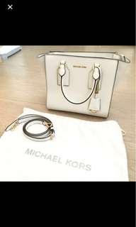 MICHEAL KORS 限量版白色袋 85%新
