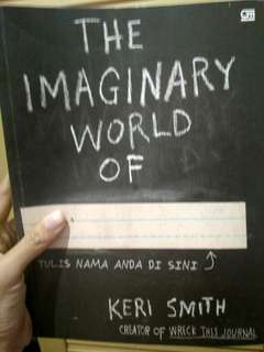 #carouhb The Imaginary World of Keri Smith Book Buku Menulis Imajinasi Iseng