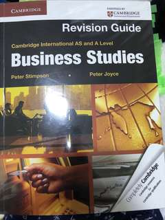 🚚 Business Studies Revision Guide
