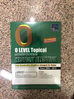 🚚 O Level Topical Combined Humanities History Elective Past Year Papers