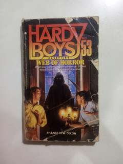 Hardy Boys - Web of Horror