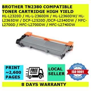 Brother TN2380/TN660 Compatible Toner