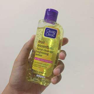 C&C fruit essentials facial cleanser (brightening lemon)