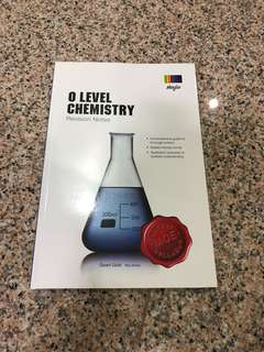 🚚 O Level Chemistry Revision Notes